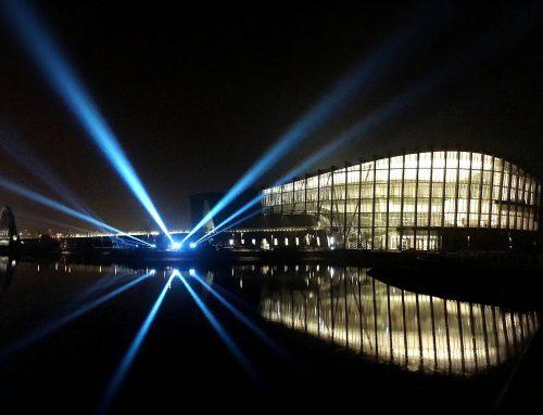 台灣東濂和光與Aurora攜手採用W-DMX™點亮故宮南院