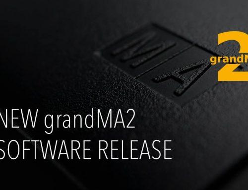 全新grandMA2軟體( 3.5.0.3 版本)上線