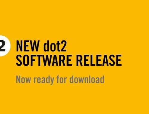 全新dot2軟體[1.5.0.2]版本正式上線