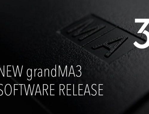 全新grandMA3軟體( 0.9.3.3 版本)上線